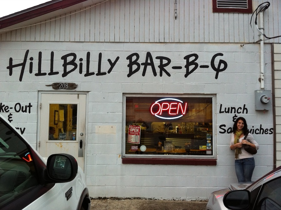 hillbilly bbq restaurant, New Orleans food