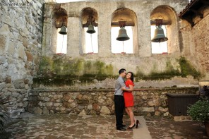 The Mission in San Juan Capistrano, Engagement photography