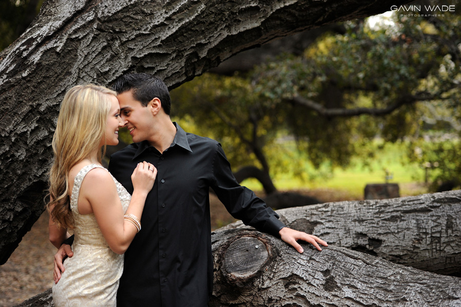 irvine park engagement photography
