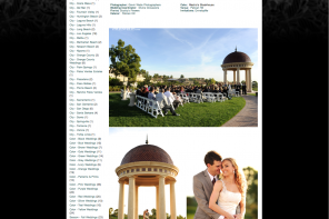 pelican hill resort wedding photographer, featured wedding