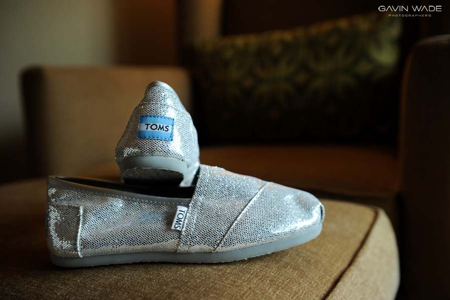 Toms wedding shoes, hotel corque wedding, Santa Ynez wedding photographer
