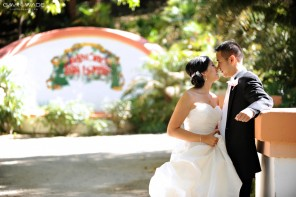 real wedding at Rancho Las Lomas, destination wedding photographer in Orange County