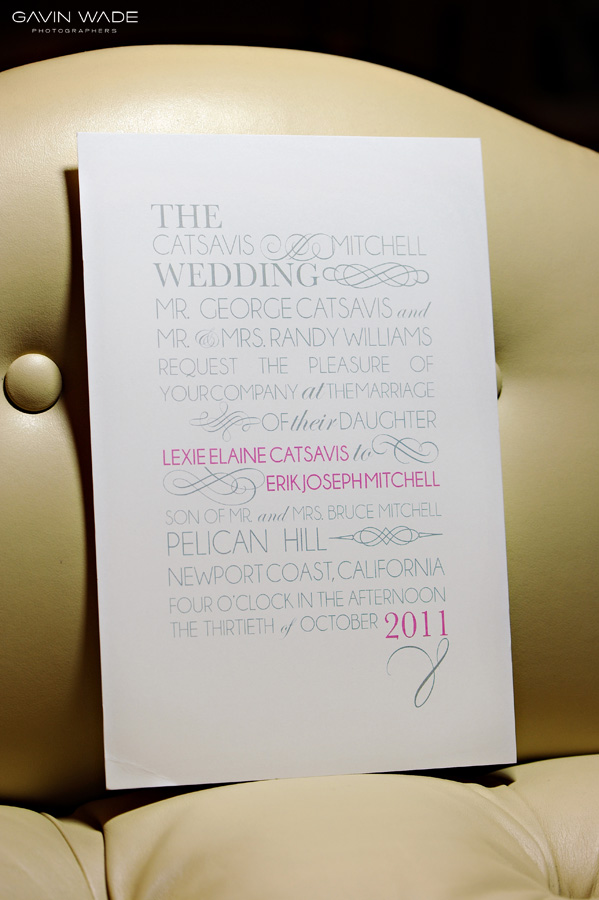 custom wedding invitations, orange county wedding photographer