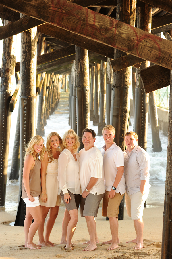 family photography in seal beach