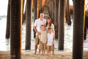 seal beach family portrait