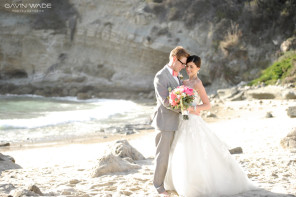three arch bay wedding